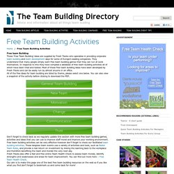 The Team Building Directory