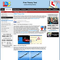 Driving Theory Test from LDC for 2012