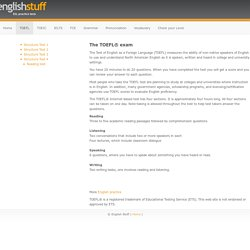 Free TOEFL Practice