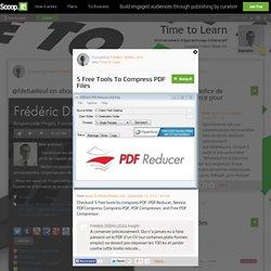 5 Free Tools To Compress PDF Files