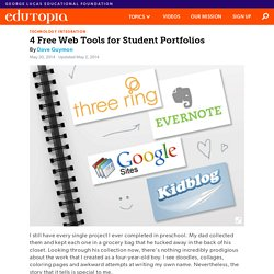 4 Free Web Tools for Student Portfolios