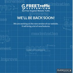Free Traffic System - Increase Targeted Website Traffic with Free Unlimited One Way Links