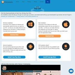 Free Trial Page - Chrometa