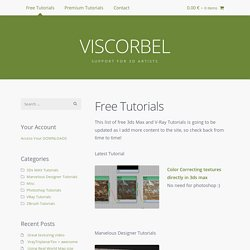 Free Tutorials / VISCORBEL