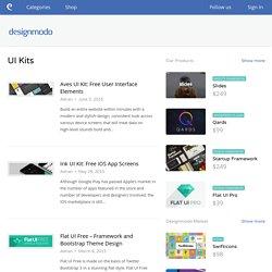 Free UI Kits - Designmodo