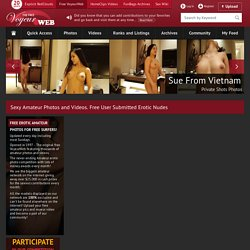 Welcome to the free Voyeurweb - the world's biggest erotic amate