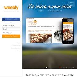 Crie um website gratuito e um blogue gratuito