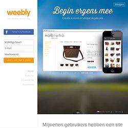 Bouw een gratis website en een gratis blog