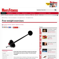Super fast all-body barbell workout | Men's Fitness UK