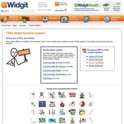 Free Widgit Symbol Updates