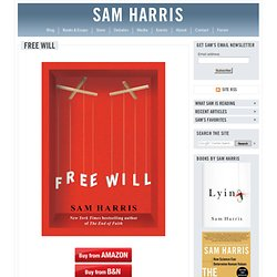 "The Blog : Morality Without ""Free Will"""