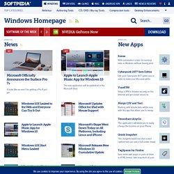 Free Windows Downloads - Softpedia