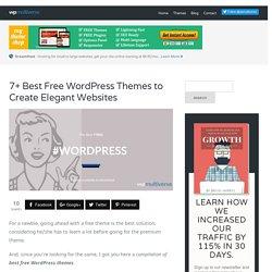 7+ Free WordPress Themes in 2016