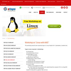 FREE Workshop on Linux with AWS