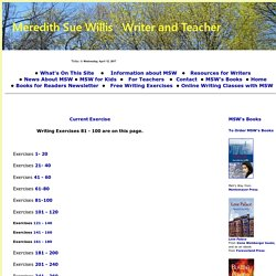 free writing exercises 81 - 100