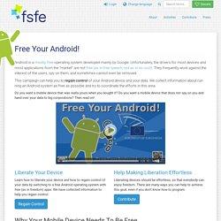 Libérez votre Android! - FSFE