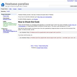 freebase-parallax - New way to browse and explore data in Freebase