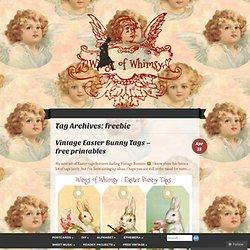 Free Vintage Printables - Vanentine's Day