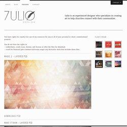 Freebies « 7ulio Design