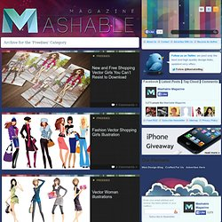 Freebies - Mashable Magazine