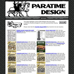 Design Role Playing Games Resource Page 1