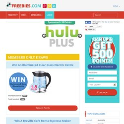 USA : free samples, competitions, paid surveys, freebies and more!