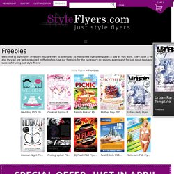 Style Flyers PSD free download