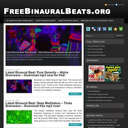 FreeBinauralBeats.org