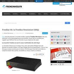 FreeBox V6: la FreeBox Revolution! (MAJ)