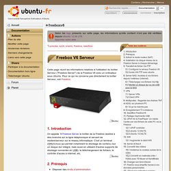 freeboxv6 - Documentation Ubuntu Francophone