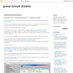 grand stream dreams: PowerUp Tip: FreeCommanderXE + Total7zip Plugin