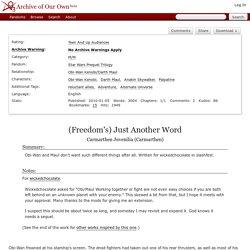 (Freedom's) Just Another Word - Carmarthen Juvenilia (Carmarthen)