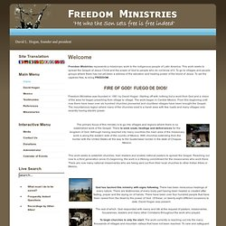 Freedom Ministries -- Jesus is King -- Go for it! - Home