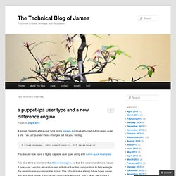 The Technical Blog of James