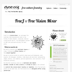 Free Vision Mixer - dyne.org