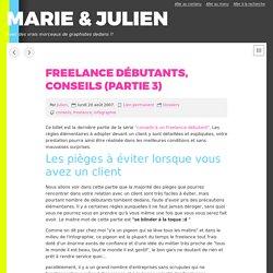 Freelance débutants, conseils (partie 3) - MARIE & JULIEN