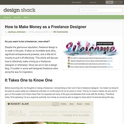 How to Make Money as a Freelance Designer