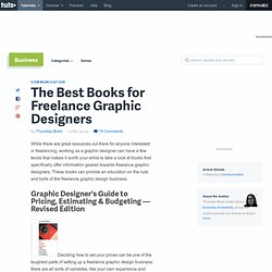 The Best Books for Freelance Graphic Designers