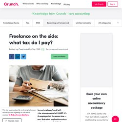Freelance On The Side: Everything You Need To Know about Tax