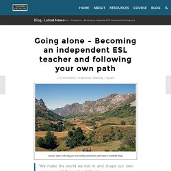 Freelance: How to Teach English Independently Online