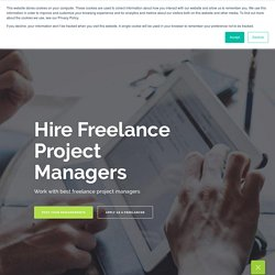 Hire Freelance Project Managers - RemotePanda