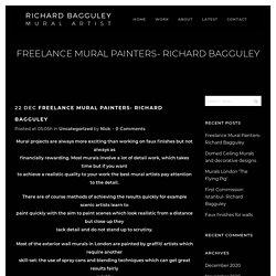 Freelance Mural Painters- Richard Bagguley