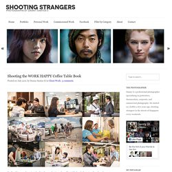 Shooting Strangers in Orchard Road, Photography by Danny Santos II