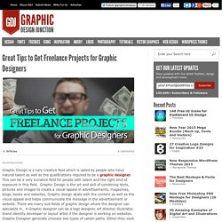 Tips to Get Freelance Graphic Design Projects