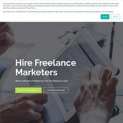 Hire Freelance Marketers - RemotePanda