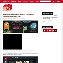 10 Cool and Creative Websites