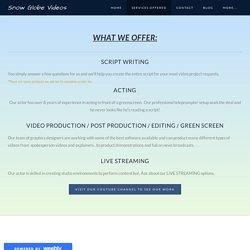 Find Freelance Video Maker in Arizona