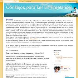Consejos para ser un Freelancer: Payoneer para Argentinos