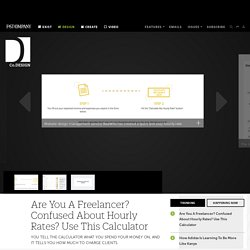 Are You A Freelancer? Confused About Hourly Rates? Use This Calculator