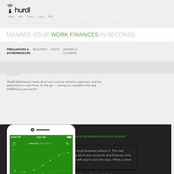 Hurdlr - Simple Financials for Freelancers & Entrepreneurs
